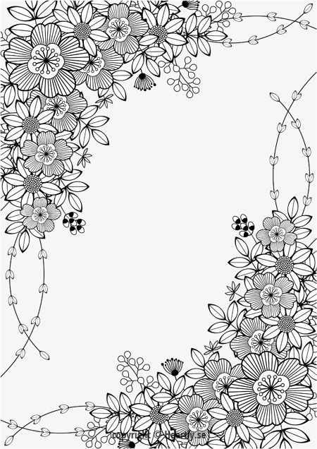 Latest Pic Coloring Books Design Tips This Is Actually The Best Self Help Guide To Colouring For Parents Have Sugg In 2021 Coloring Pages Floral Border Coloring Books