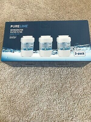 3 Pack Pureline Refrigerator Water Filter Smartwater Pl 100 For Ge Kenmore New Ebay With Images Refrigerator Water Filter Water Filter