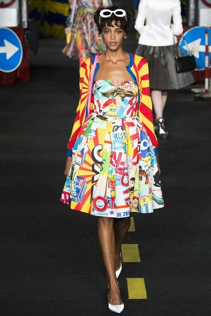 See all the Collection photos from Moschino Spring/Summer 2016 Ready-To-Wear now on British Vogue
