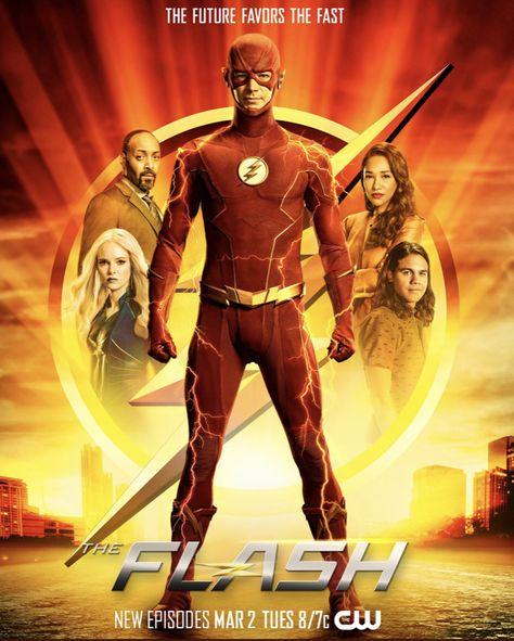 The Flash Season 7 Poster