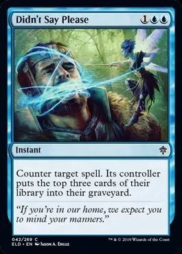 MYSTICAL DISPUTE X4 Throne Of Eldraine ELD Magic MTG MINT CARD