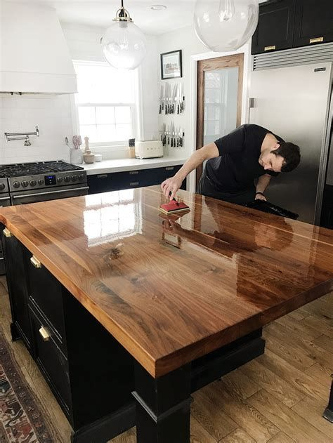 Warm And Suiting Butcher Block Is An Inexpensive Countertop