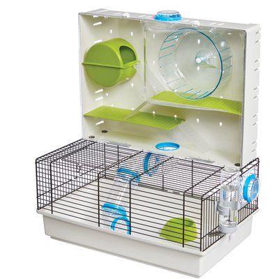Archie Oscar Henton Arcade Hamster Cage W Feeder Hamster Cages Hamster Habitat Cool Hamster Cages