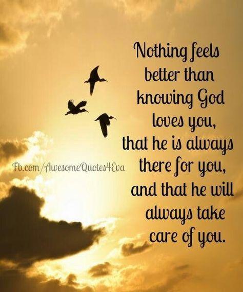 God loves you. by june