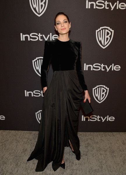 Michelle Monaghan attends the 2019 InStyle and Warner Bros. 76th Annual Golden Globe Awards Post-Party at The Beverly Hilton Hotel.