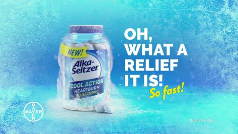 With NEW Alka-Seltzer Cool Action ReliefChews you can skip through your heartburn fast so you can get back to enjoying your nachos!