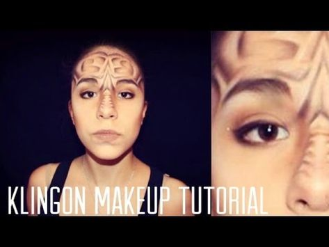 Klingon Makeup Tutorial Klingon Makeup Tutorial Star Trek Costume