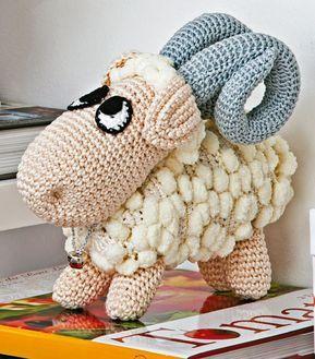 Amigurumi Com Grafico E Receita Cabra De Croche Bichinhos De