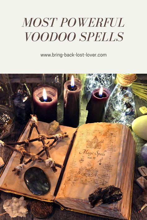 Most Powerful Voodoo Spells