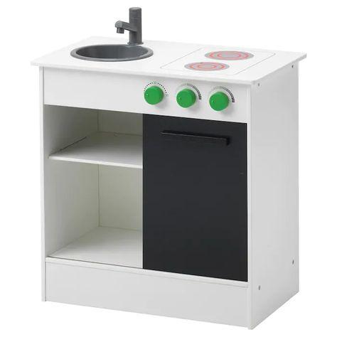 Ikea Spiel Mini Küche Klein Kinder Baby Wohnen weiß 49x30x50