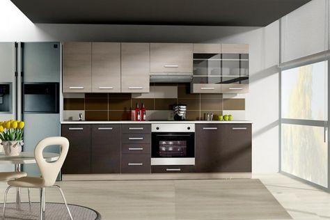 Küche Wiktoria 260cm Küchenzeile \/ Küchenblock variabel stellbar - küchenblock 260 cm