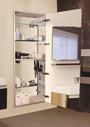 Tall 60 Semi Recessed Right Hinge Deep Mirror Cabinet Full Length Mirror Medicine Cabinet Medicine Cabinet Mirror Mirror Cabinets