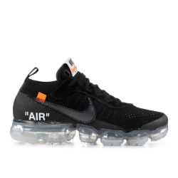 Off White X Air Vapormax Off White Nike Aa3831 002 Black Total Orange Clear In 2020 Nike White Nikes Nike Air Vapormax
