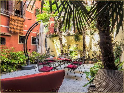 Location d'un appartement à Venise pour 2 personnes avec jardin, dans le sestier de Santa Croce, l'appartement San Simeon | e-Venise.com