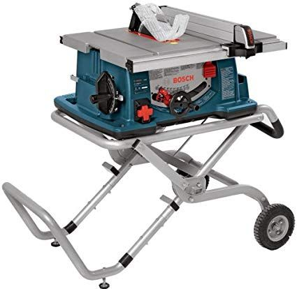 Bosch 10 Inch Worksite Table Saw 4100 09 With Gravity Rise Wheeled Stand Portable Table Saw Review With Images Best Table Saw Portable Table Saw Table Saw Stand