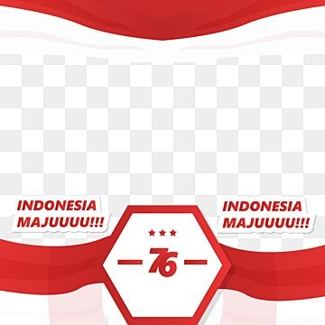 Twibbon Hut Ri 76 Indonesian Independence Day Decorative Design Twibbon 17 Agustus 17 Agustus Indonesian Independence Day Png And Vector With Transparent Bac In 2021 Facebook Frame Independence Day Background Indonesia Independence Day
