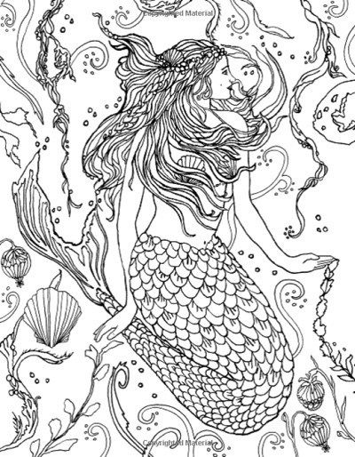 - Best Mermaid Coloring Pages & Coloring Books Mermaid Coloring Pages, Coloring  Books, Mermaid Coloring Book