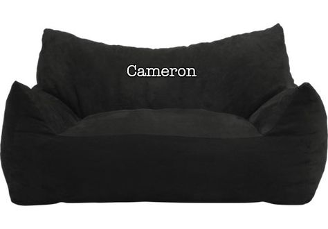 Shop for a Personalized Welbury Black Fufton Bean Bag Chair at Rooms To Go Kids. Find  that will look great in your home and complement the rest of your furniture.