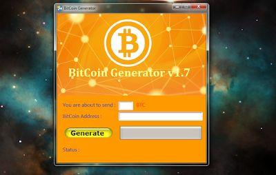 generatore bitcoin nessun download