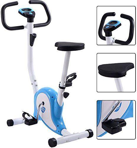 Kanda Company Exercise Bike Cardio Fitness Stationary Upright