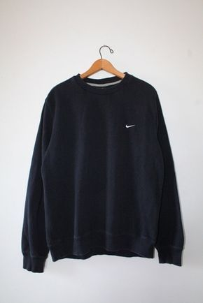sweater nike black sweater oversized sweater tumblr sweater