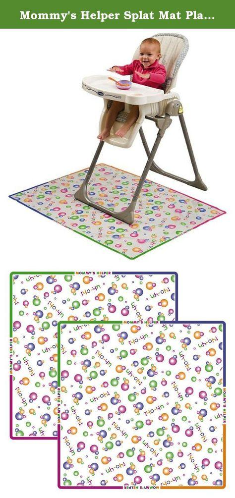 Mommy/'s Helper Splat Mat Plastic Floor Cover