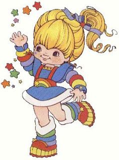 She was in my group of totally awesome chics along with Wonder Woman, Punky Brewster, Gem & the Holograms & Strawberry Shortcake!!