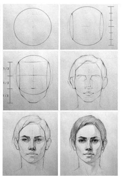 Aprende A Dibujar Rostros Humanos Dibujo Profesional Dibujos De Gabriel Como Dibujar Rostros Humanos Dibujar Rostros Aprender A Dibujar Rostros