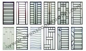 Wrought Iron Popular Window Grill Design Catalogue 2018 7
