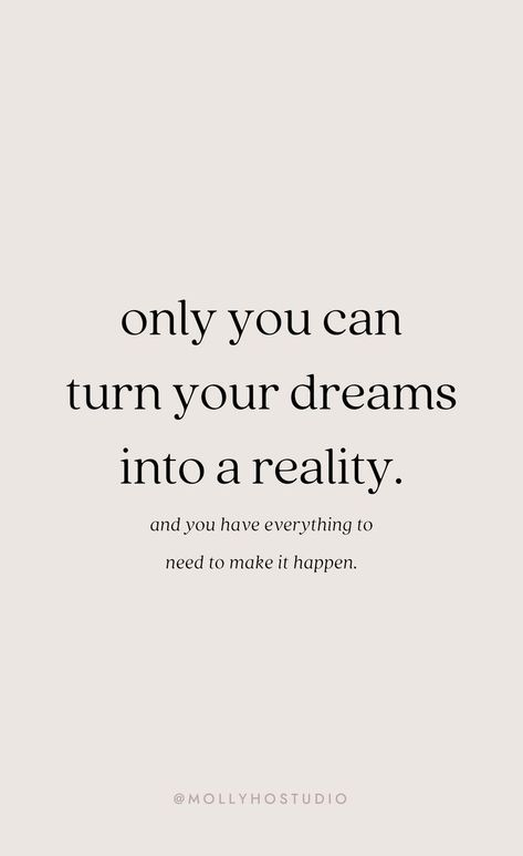 Work motivational quotes : pin this molly ho studio Motivacional Quotes, Dream Quotes, Words Quotes, Wise Words, Best Quotes, Life Quotes, Lyric Quotes, Sayings, Motivational Quotes For Success
