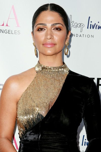 Camila Alves attends the BELLA Los Angeles Summer Issue Cover Launch Party.