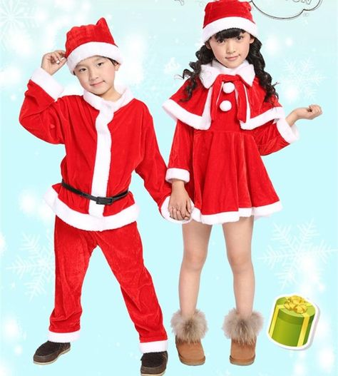 Costume Per Bambini Natività Stella di Natale Babbo Natale Costume Outfit