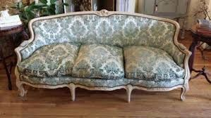 Reupholster French Provincial Sofa