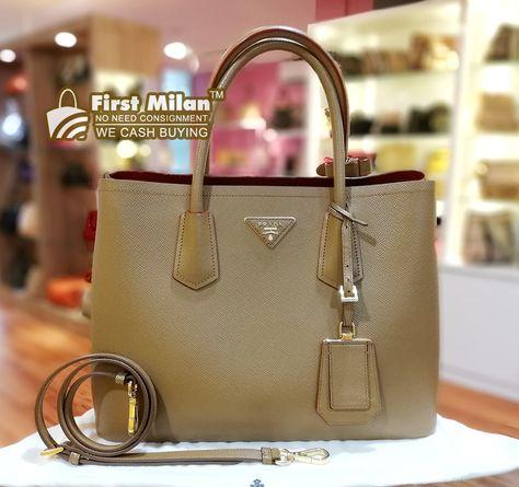 3e1af233d1a07b PRADA Saffiano Lux Mini Flap Bag. Best Price ~ RM2,080 | PRADA in 2018 |  Pinterest | Prada, Prada saffiano and Bags