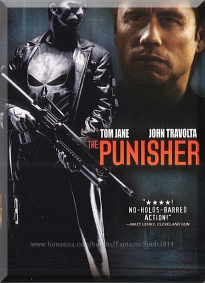 This Dark Action Film Based On The Comic Book Series Follows Fbi Agent Frank Castle As He Transforms Into The Ve The Punisher Movie Thomas Jane John Travolta