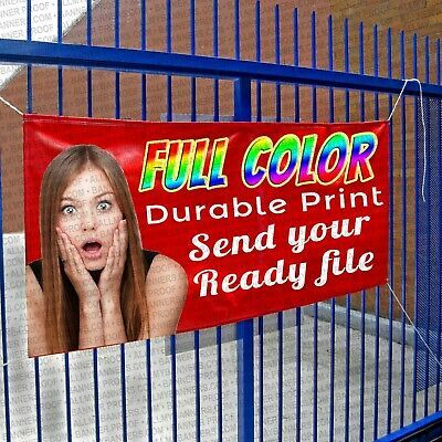 10x10 Full Color Printed Custom Banner Hems And Grommets Design Help Amba Fashion Home Garden Homedcor D In 2020 Custom Vinyl Banners Custom Vinyl Custom Banners