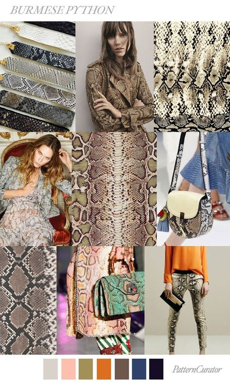 Our FV contributor and friend, Pattern Curator curates an insightful forecast of mood boards color stories. They are collectors of images and photos to offer print, pattern and color trends. Each of # fashion 2019 women