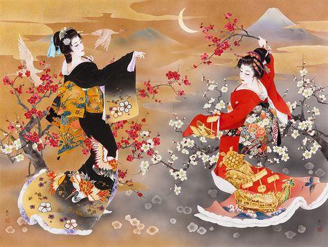 японские картинки нарисованные: 24 тыс изображений найдено ...