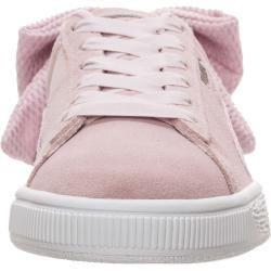 Puma Sneaker Suede Bow Altrosa Weiss Pumapuma Altrosa