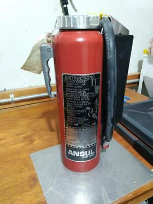 Details About Ansul Redline 10lb Abc Extinguisher Pre Owned Extinguisher Fire Extinguisher Fire Extinguisher Types