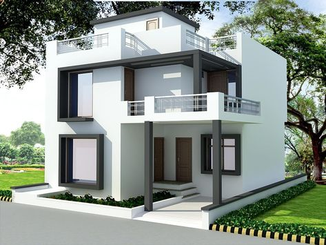 house front design indian style for Android
