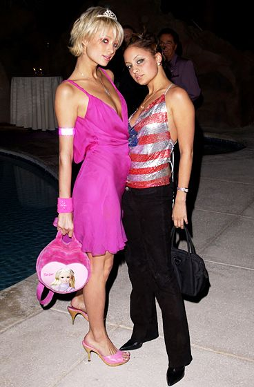 Many years ago, in a land far, far away, two girls named Nicole Richie and Paris Hilton were best friends .