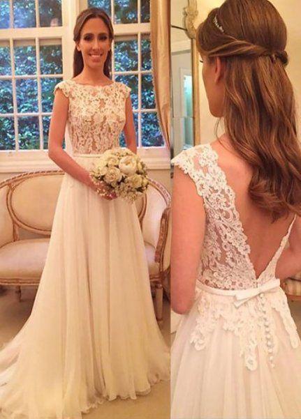 11++ Lace chiffon wedding dress ideas