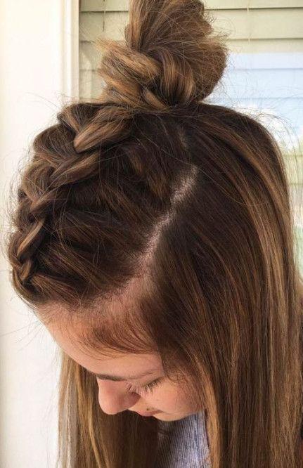 Best Hairstyles For Medium Length Hair For School Hairdos Ideas Braids For Medium Length Hair Medium Length Hair Styles Hair Lengths
