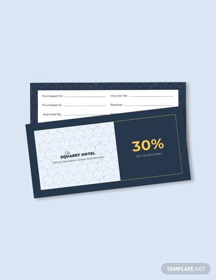 Hotel Booking Voucher Template Free Pdf Word Psd Apple Pages Illustrator Publisher Voucher Design Discount Card Gift Voucher Design