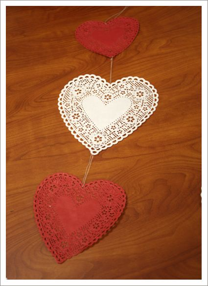 super fast and easy valentine's day decoration