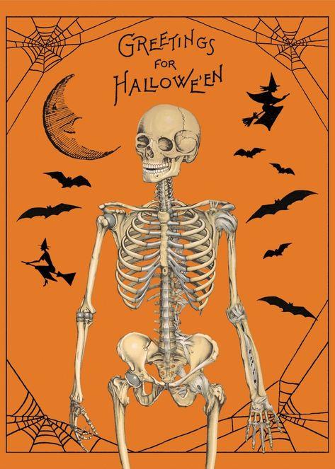 Halloween Posters - Greetings for Halloween
