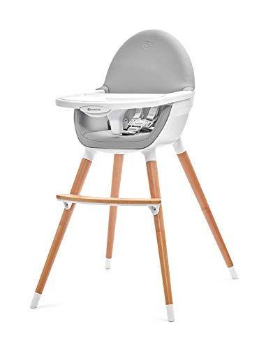Kinderkraft Chaise Haute Bebe Fini 2 En 1 Evolutive Reglable Lavable Gris En 2020 Chaise Haute Chaise Haute Bebe Chaise