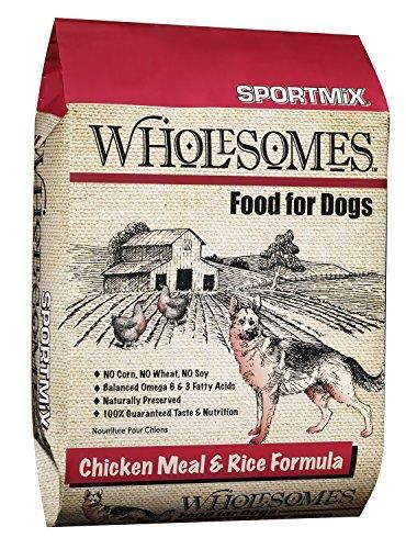 Sportmix Wholesomes Chicken Meal And Rice Formula 40 Pound Bag