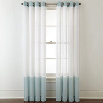 95 inch curtains jcpenney sheer